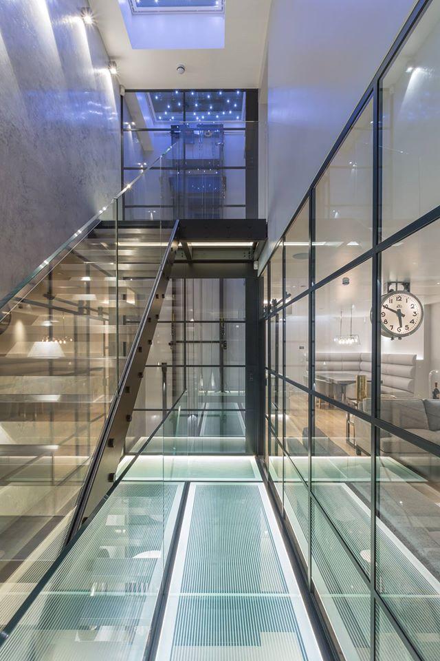 Lighting Basement Washroom Stairs: TC&D Construction