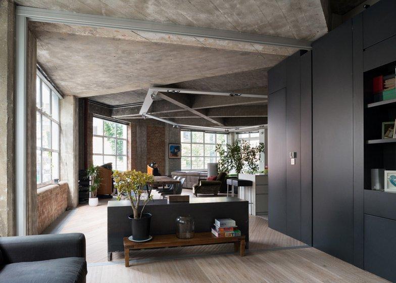 Exposed Concrete Apartment. Image credit: Dezeen