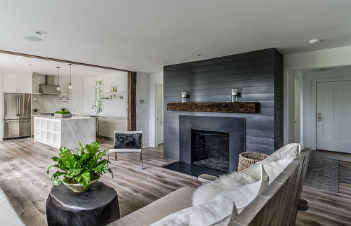 Granite Fireplace. Image credit: