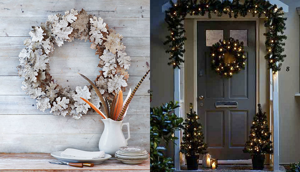 christmas wreath ideas image credits good housekeeping tesco
