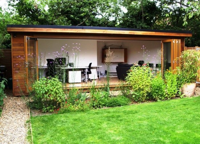Garden studio for Garden house office