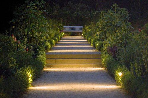 lighting in garden. Pathway Lights Make The Ordinary Look Beautiful. Image Credit: Quanta Lighting In Garden