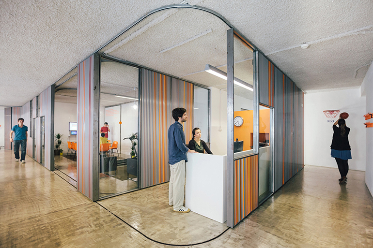 Moveable Partition Walls