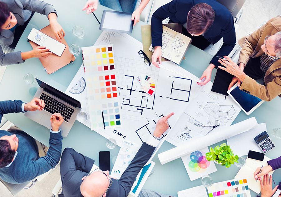 Interior Design Team Briefing