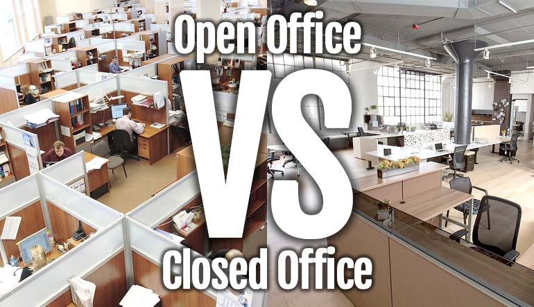 Open Office vs Closed Office: Which is Best?